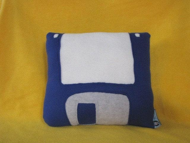 Floppy Disk Pillow - 3-1/2 Inch