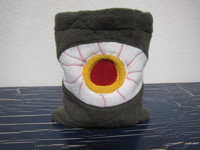 Drawstring Pouch Dice Bag - Eyeball