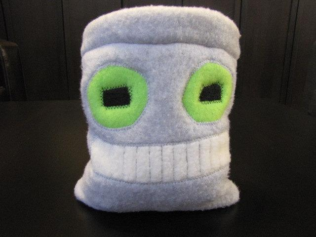 Drawstring Pouch Dice Bag - Good Robot