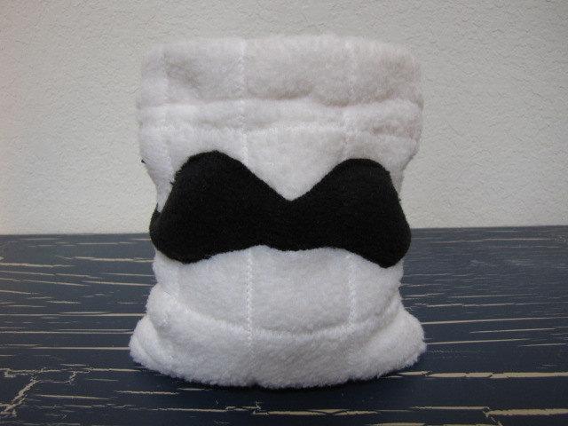 Drawstring Pouch Dice Bag - Moustache