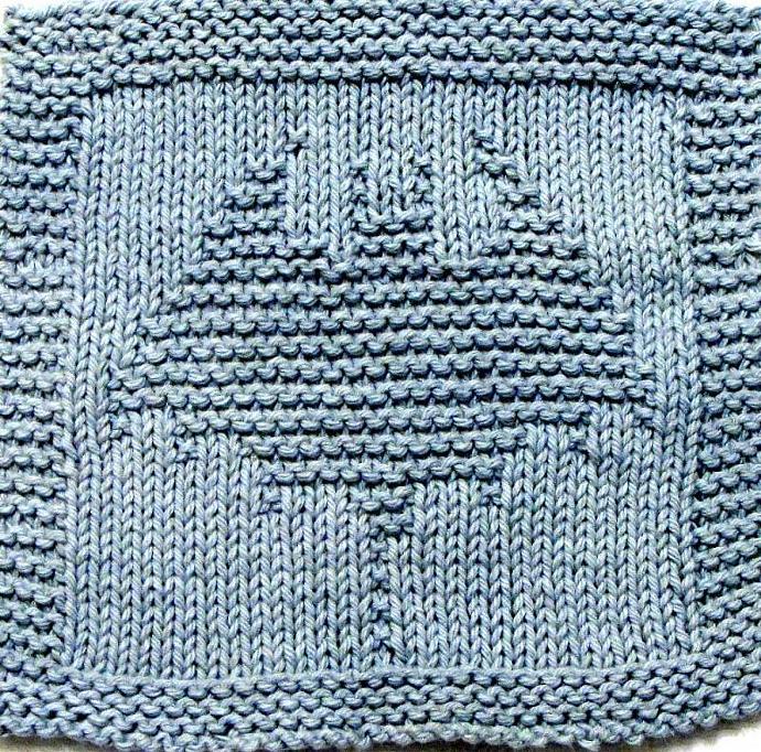 Knitted Tablecloth Patterns : Knitting Cloth Pattern - BAT - PDF ezcareknits