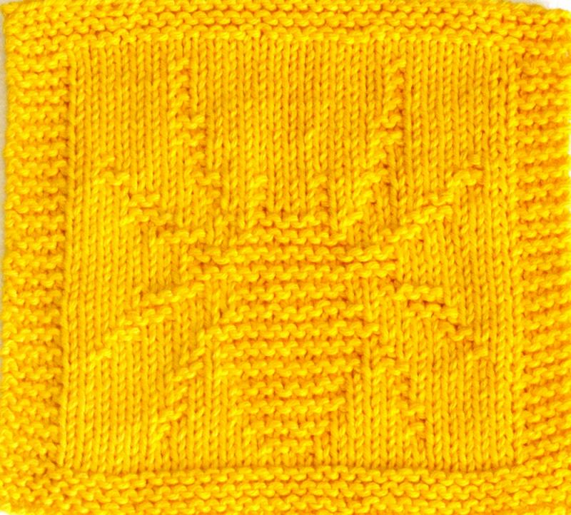 Spider Knitting Pattern : Knitting Cloth Pattern - SPIDER - PDF ezcareknits