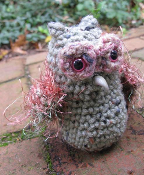 Petunia the Zombie Owl