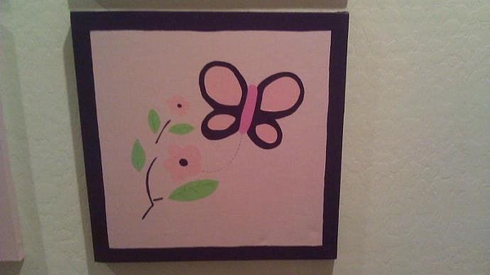 Custom 20x20 Girls Canvases