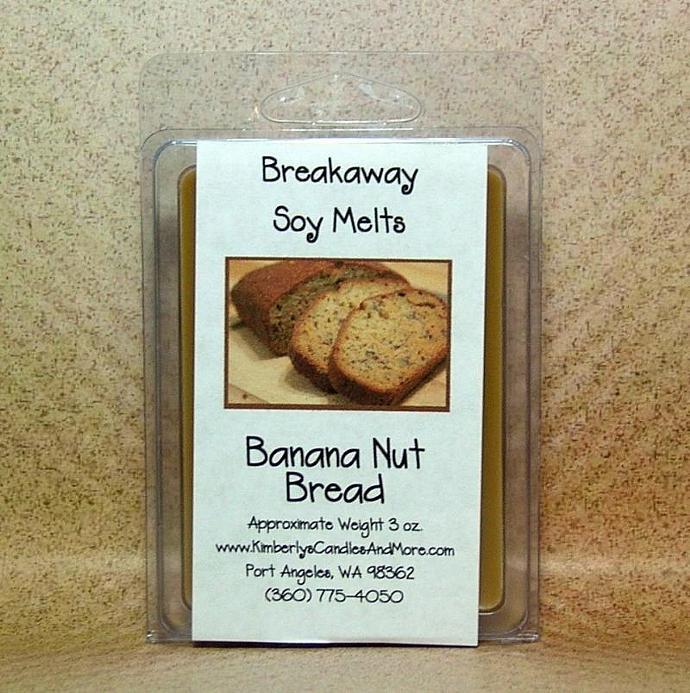 Banana Nut Bread Breakaway Soy Melts