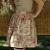 LUCY Retro style floral half apron