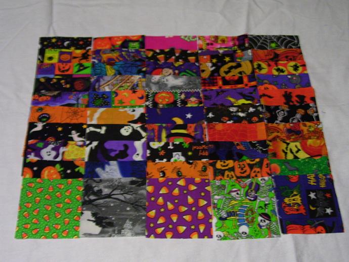 Halloween --I Spy Quilt Game Kit