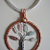 Copper Tree of Life Pendant Colours Handmade