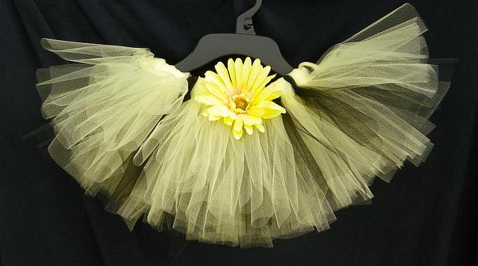 Baby Bumble Bee Costume TuTu Custom Made 12 months to 5t