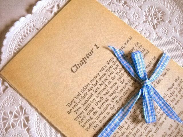 Charming Bundle of Vintage Louis L'Amour Book Pages