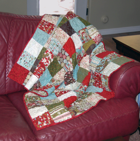 Figgy Pudding Christmas Quilt