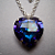 Venus Heart - in Purple - Necklace