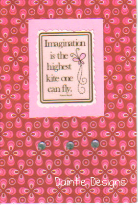 Imagination Greeting Card