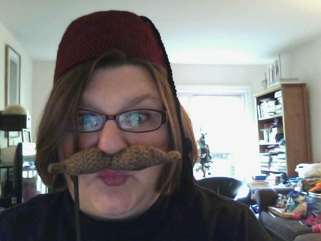 Masquerade Mustache