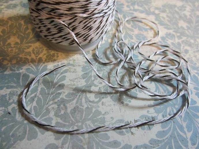 5yds - Brown/White Bakers Twine