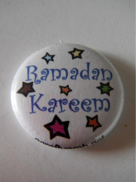 Ramadan Kareem Button Pin