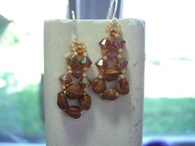 juniper berries earrings