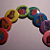 Rainbow of My Little Ponies (8 button set)