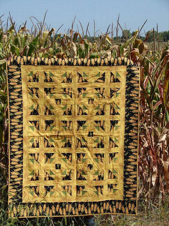 The Pride of Iowa Lap Quilt