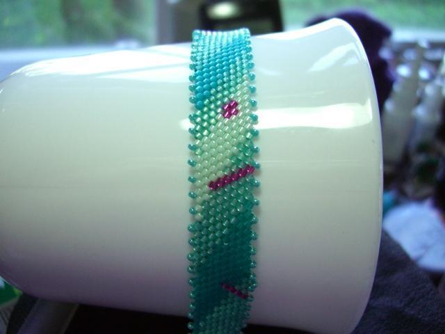 Tranquil Pleasures Glass Seed Bead Bracelet