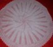 Stunning 3ply Heirloom Baby Shawl (PURE WHITE)