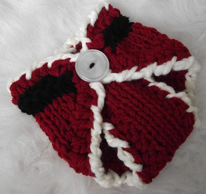 Newborn Christmas Faux Hawk Hat