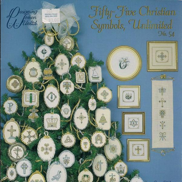 Is A Christmas Tree A Religious Symbol: Christian Symbols Cross Stitch Patterns
