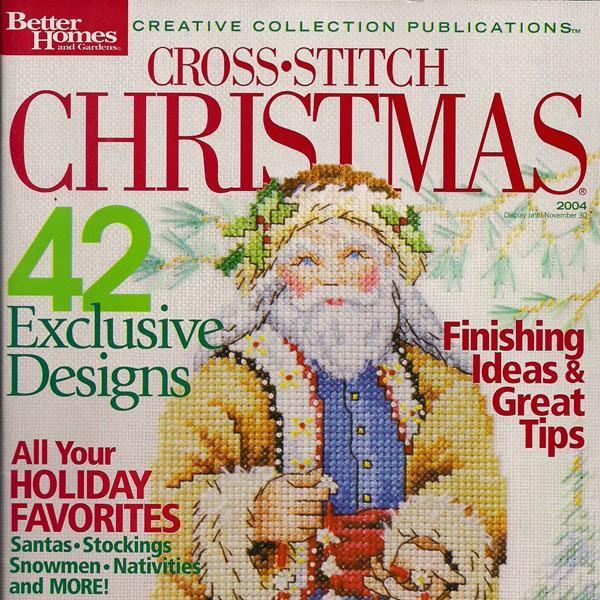 Cross Stitch Christmas Magazine 2004 Astitchandaprayer