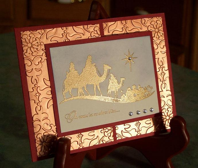 Foil Stamped Christmas Cards