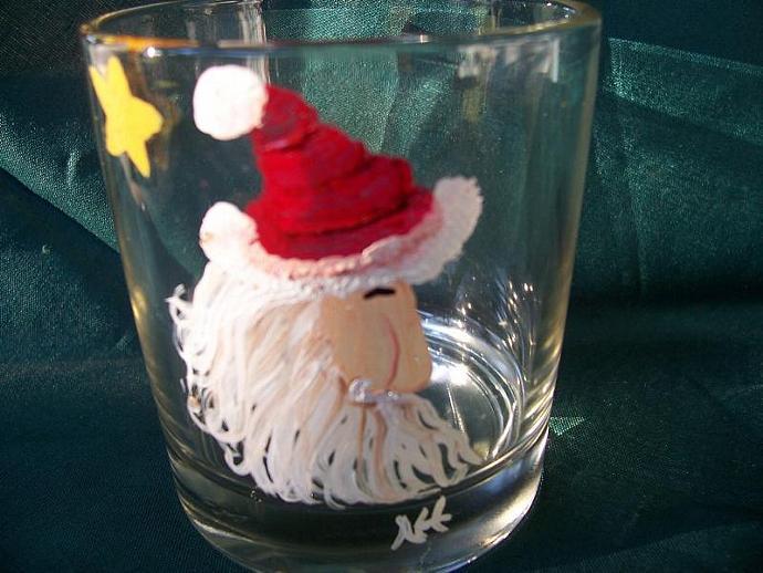 Santa Tea Light