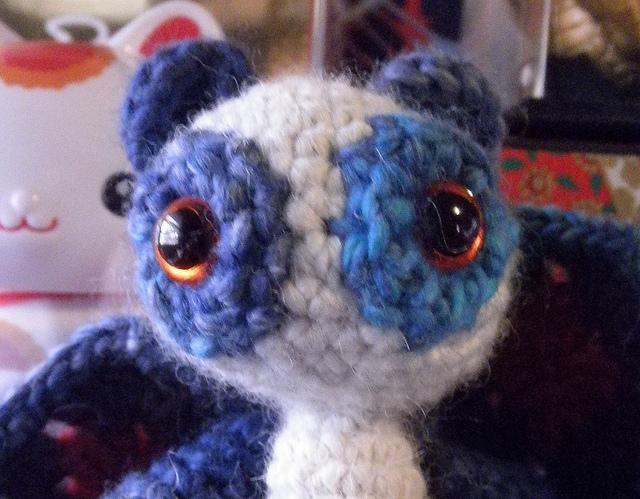 Blue Fairy Panda Amigurumi