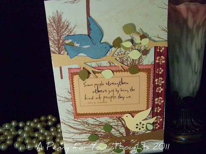 Strengthen Others Handmade  All Occasion Card