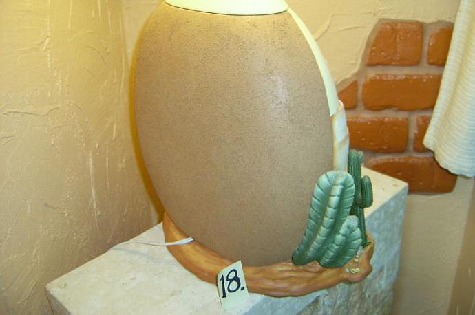 """E-LNT-18 - """"MI PUEBLO"""" LAMP"""