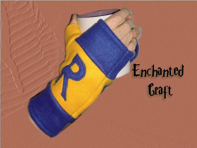 FLEECE RAVENCLAW Fingerless Gloves