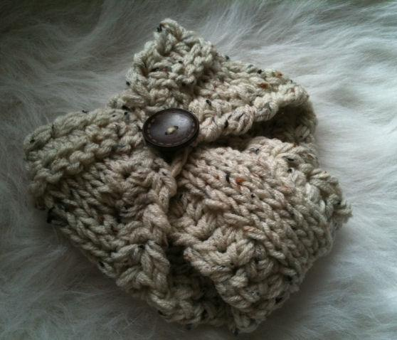 Newborn Diaper Cover-Oatmeal