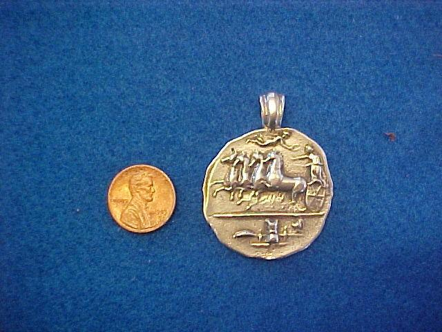 Syracuse coin replica