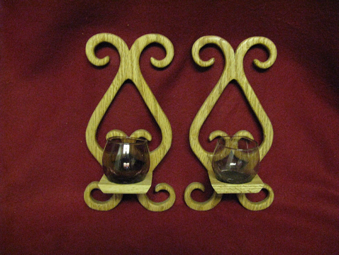 Candle Wall Pair