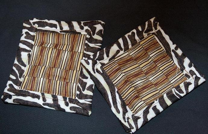 Safari Mug Mat duo
