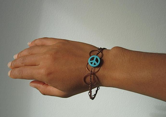 Turquoise Peace Bracelet