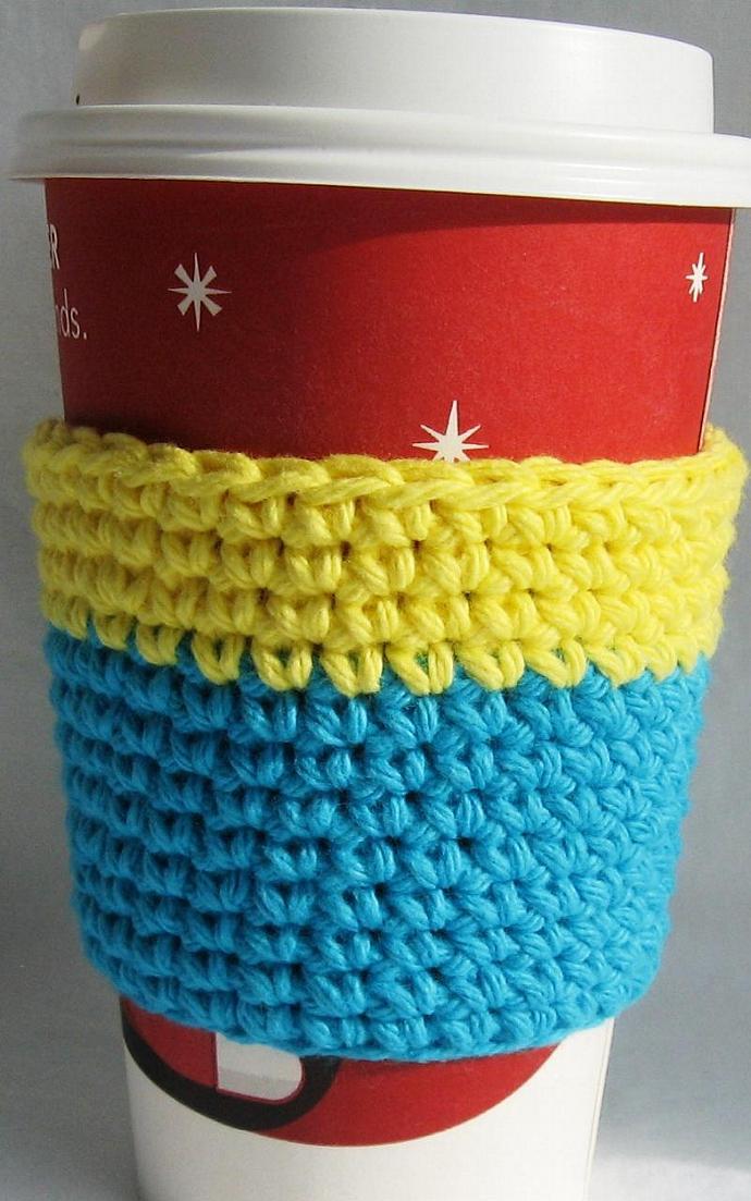 Crochet Coffee Cup Sleeve