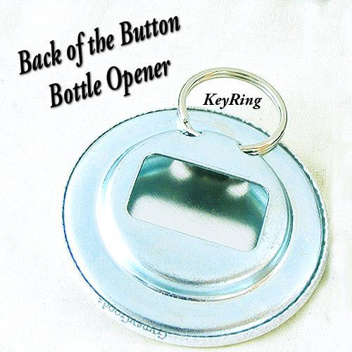 Scotty Bottle Opener Button