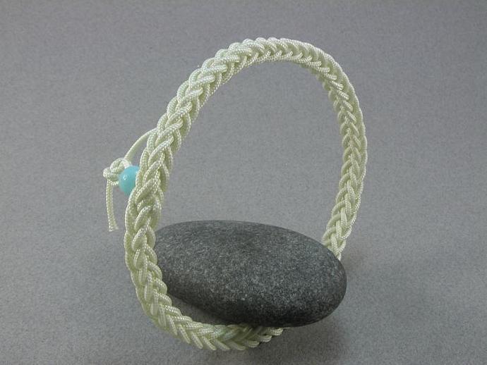 square sennet braid soft bangle bracelet rope bracelet nautical knot bracelet