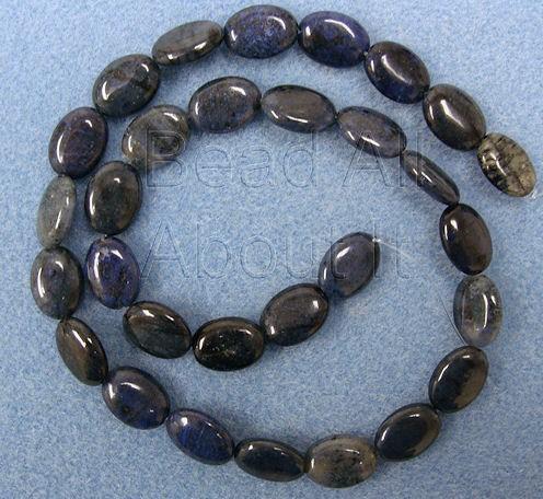 Demortierite 12x10mm Oval Beads Strand