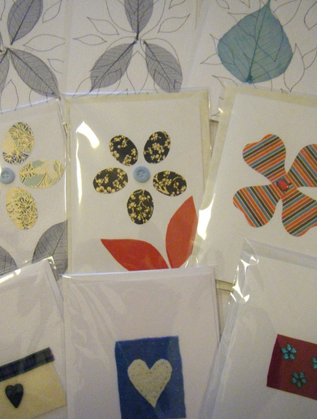 Selection of 5 Handmade Cards