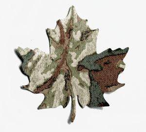 Autumn Maple Leaf Die Cut Vintage Wall Paper Punches Packet of 50
