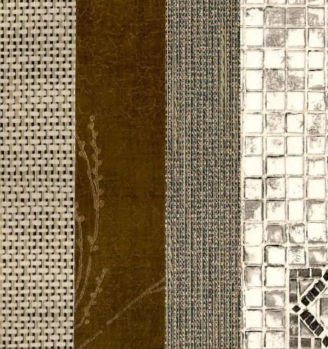 Texture and Fiber Vintage Wall Papers 6 x8 Sheets 12 Piece Packet