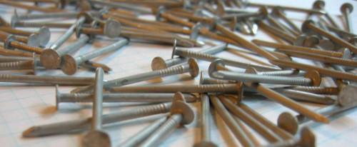 Aluminum No Rust Nails Packet of 20