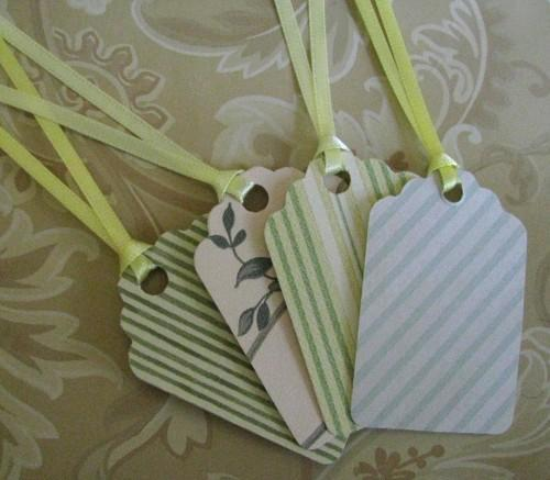 French Flair Handmade Gifting and Journaling Tag Set