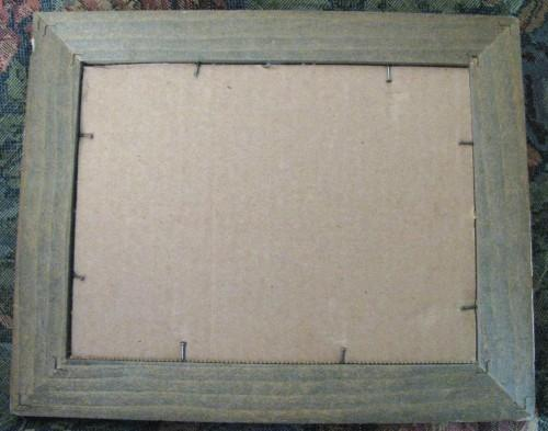 Hand Stitched Country Pig and Ivy Embroidered Sampler Barn Wood Frame, Ready to
