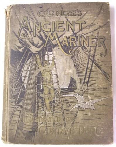 Rime of the Ancient Mariner Antique 1889 Book Altemus Edition